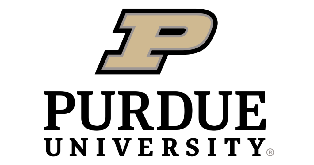 The logo for Purdue University which offers one of the cheapest online mba