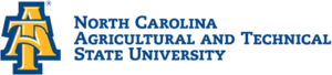 The logo for North Carolina A & T State University which is a great school when you're looking for best degrees for moms
