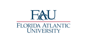 The logo for Florida Atlantic University which offers a great online nursing degree
