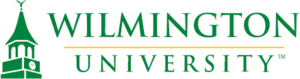 The logo for Wilmington University which ranked 8th for top shortest nurse practitioner programs