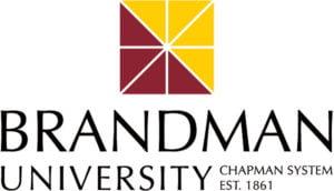 The logo for Brandman University which offers an EdD in Organizational Leadership Online program