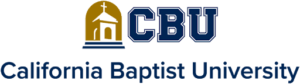 The logo for CBU which placed 15th in our ranking with its Online Organizational Change and Administration EdD
