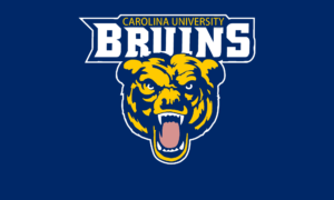 The logo for Carolina University Bruins which placed 2nd in our ranking for a PhD in Leadership Online