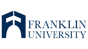 The logo for Franklin University which is noted for its EdD in Organizational Leadership online program