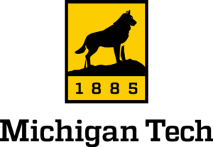 The logo for Michigan Technological University which is one of the top mining engineering schools