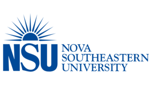 The logo for NSU which placed 25th in our ranking for Online Doctorate in Leadership