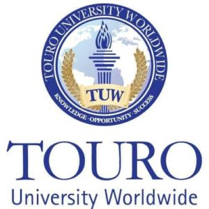 The logo for TOURO University Worldwide which offers an Online PsyD in Organizational Leadership