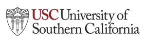 The logo for USC online PhD Leadership and Learning in Organizations program