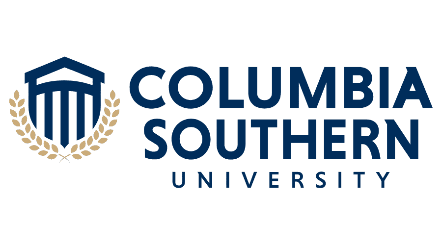 The logo for Columbia Southern University which is second in our ranking of online tech colleges