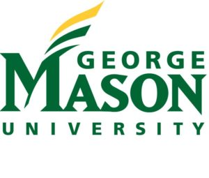The logo for George Mason University which placed 24th in our ranking for online technical colleges