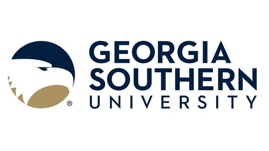 The logo for Georgia Southern University which placed third in our ranking of online tech colleges