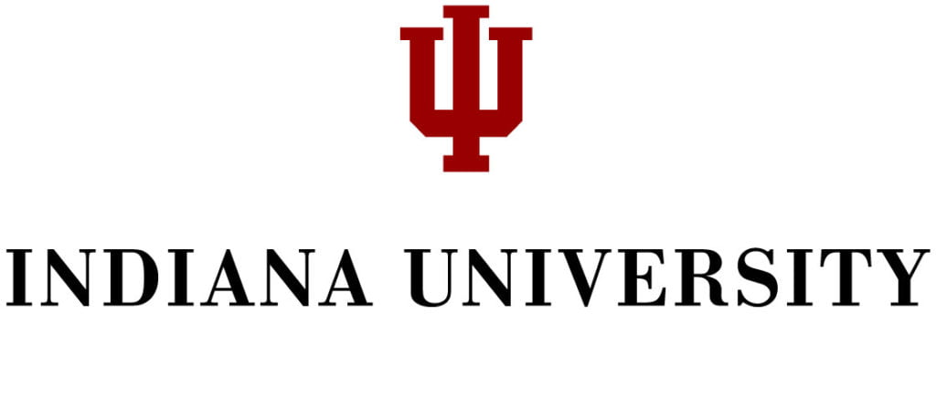 Logo for Indiana University which ranks in our Top 30 Most Affordable Online Certificate Programs 2021