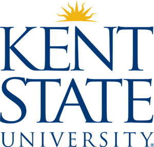 The logo for Kent State University which offers a great degree for stay at home mom's online