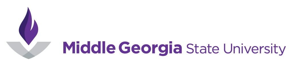 The logo for Middle Georgia State University which placed first in our ranking of online technical colleges