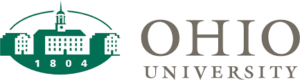 The logo for Ohio University which placed 23rd in our ranking of bestonline technical colleges