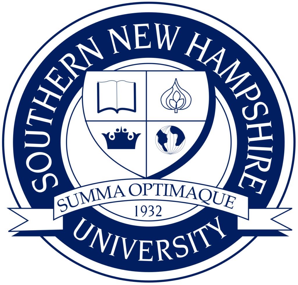 Logo for Southern New Hampshire University which ranks in our Top 30 Most Affordable Online Certificate Programs 2021