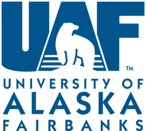 The logo for University of Alaska wich id a top mining and geological engineering schools
