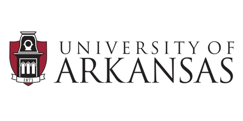 Logo for University of Arkansas which is one of the Top 30 Most Affordable Online Certificate Programs 2021