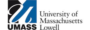 The logo for University of Massachusetts which has a great english degree on line