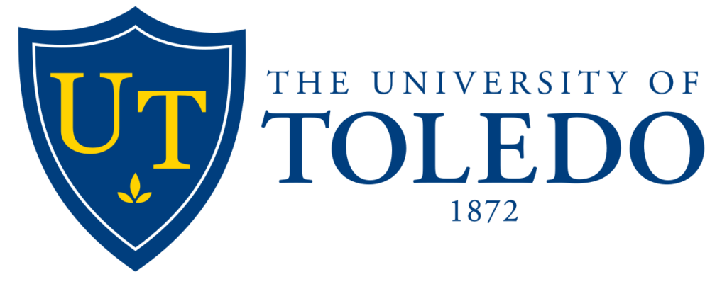 The logo for University of Toledo which placed 17th in our ranking of online tech colleges