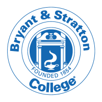 The logo for Bryant & Stratton College which has one of the best associates degree online