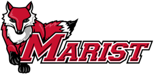 The logo for Marist College which has a great accelerated online mpa program